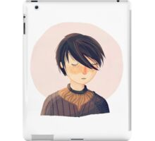 There Is Only One Thing We Say To Death iPad Case/Skin