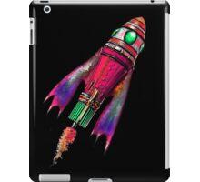 Retro Space Ship Two iPad Case/Skin