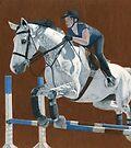Jump! Horse & Rider Jumping  by Patricia Barmatz