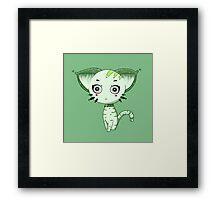 Ufo Cat by Lolita Tequila Framed Print
