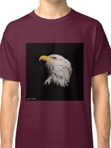 Bald Eagle Looking Skyward Classic T-Shirt