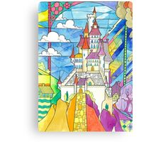 Beauty and the Beast Castle Canvas Print