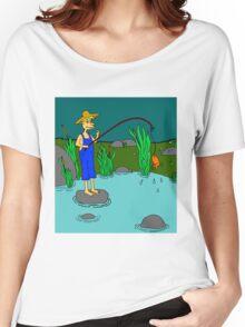 fishing Women's Relaxed Fit T-Shirt