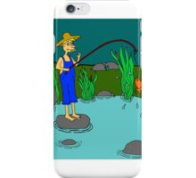 fishing iPhone Case/Skin