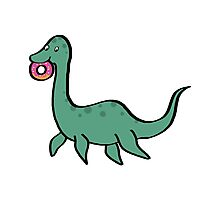 Donut and Nessie Photographic Print