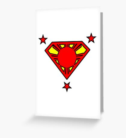 Super Philippines Greeting Card