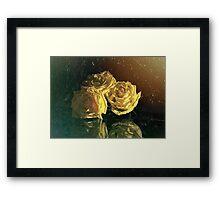 """La Rosa Amarilla"" by Lena Owens Framed Print"