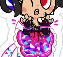 Cyber Idol Nico Sticker