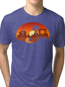 Sunset Hill Zone Tri-blend T-Shirt