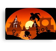 Sunset Hill Zone Canvas Print
