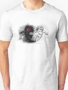 Painted Yin and Yang Chibi Cartoon Unisex T-Shirt