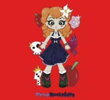 Pinup Rockabilly by Lolita Tequila Kids Tee
