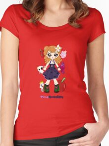 Pinup Rockabilly by Lolita Tequila Women's Fitted Scoop T-Shirt