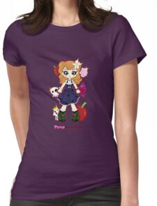 Pinup Rockabilly by Lolita Tequila Womens Fitted T-Shirt