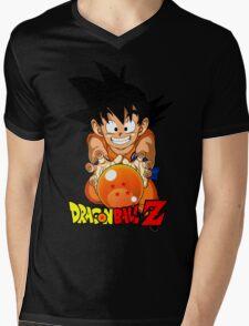 Goku V2 Mens V-Neck T-Shirt