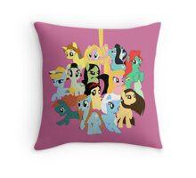 Pony Princess Collection Throw Pillow