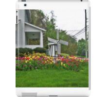 Tulip and Windmill Garden iPad Case/Skin