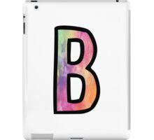 Letter B iPad Case/Skin