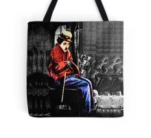☁ ☂ REMEMBERING CHARLIE CHAPLIN THROW PILLOW ☁ ☂ Tote Bag