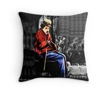 ☁ ☂ REMEMBERING CHARLIE CHAPLIN THROW PILLOW ☁ ☂ Throw Pillow