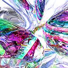 Lightning Prism Abstract by Alexander Butler