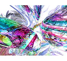 Lightning Prism Abstract Photographic Print