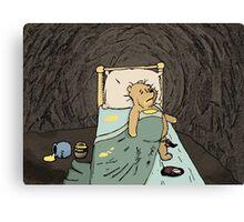Pooh the Glutton Canvas Print