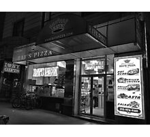 Rays Pizza 54th and 7th  Photographic Print