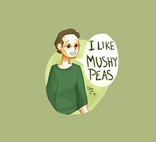 I like mushy peas THE PILLOW WOW by makjesdewafflus