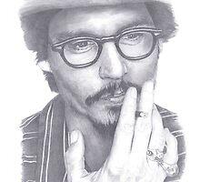 Jonny Depp by mink813
