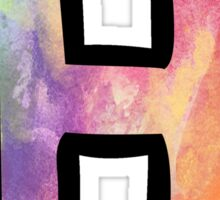 Letter H Sticker
