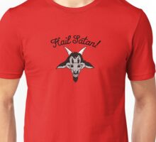 Hail Satan! Baphomet Cartoon Unisex T-Shirt