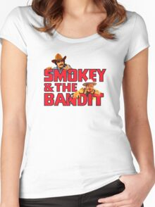 Smokey + Bandit Women's Fitted Scoop T-Shirt