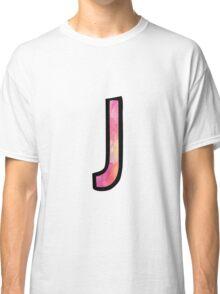 Letter J Classic T-Shirt