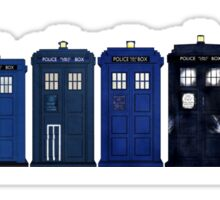 TARDIS Lineup Sticker