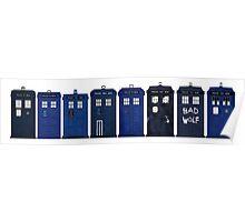 TARDIS Lineup Poster
