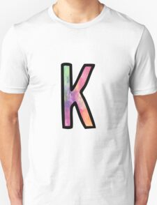 Letter K Unisex T-Shirt