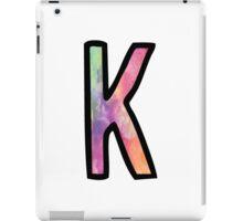 Letter K iPad Case/Skin