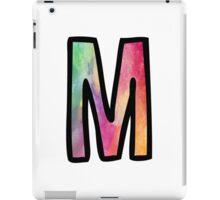 Letter M iPad Case/Skin