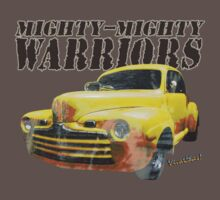 Mighty-Mighty Warriors T-Shirt by ChasSinklier