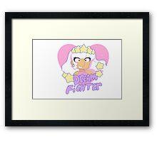 I love Dream Fighter! Colored Framed Print