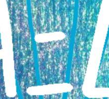 Mermaid Shell Alpha Xi Delta Sticker