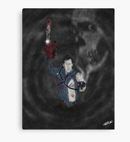 Ash Boomstick Canvas Print