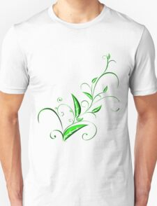 Abstract Plant Unisex T-Shirt
