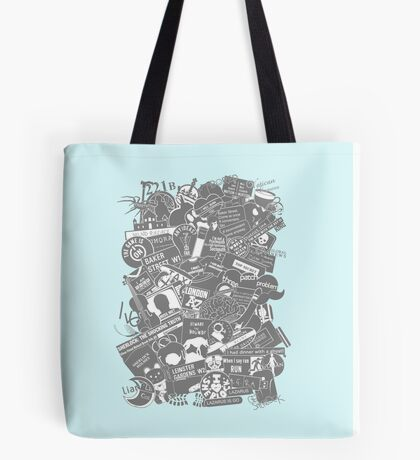 Ultimate Sherlock - Black and White Edition Tote Bag
