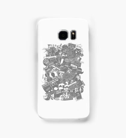 Ultimate Sherlock - Black and White Edition Samsung Galaxy Case/Skin