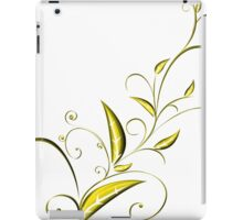 Abstract Plant iPad Case/Skin