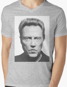 Christopher Walken Mens V-Neck T-Shirt