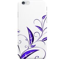 Abstract Plant iPhone Case/Skin