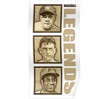 Baseball Legends Poster